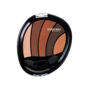 پالت سایه 5 رنگ دبورا Perfect Brown 01